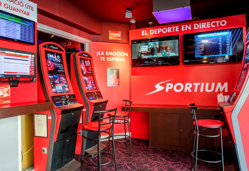 Espacio apuestas deportivas Sportium, Sala Verneda