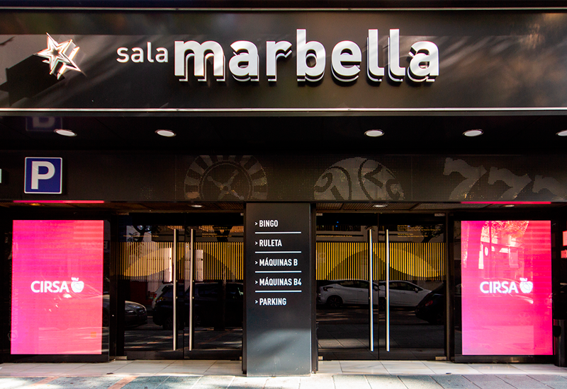 Fachada Sala Marbella